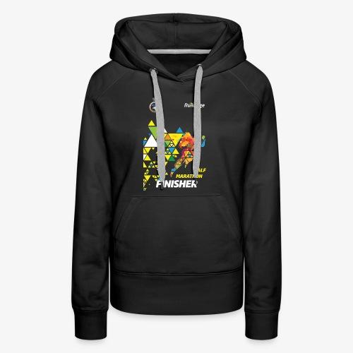 Half Marathon Finisher Shirt - Women's Premium Hoodie