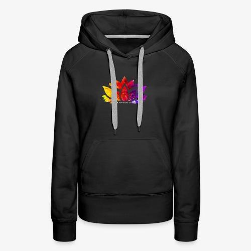 Multicolor Lotus - Women's Premium Hoodie