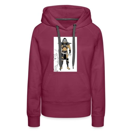 ninja 2 - Women's Premium Hoodie