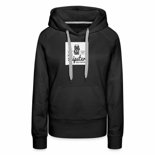 hipster4 - Women's Premium Hoodie