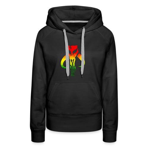 Rasta Mandalorian - Women's Premium Hoodie