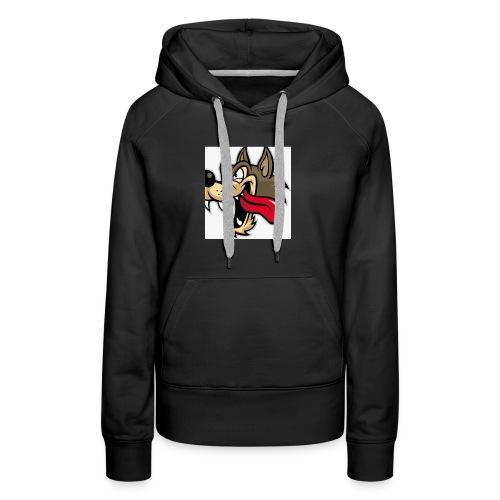 wolfy - Women's Premium Hoodie