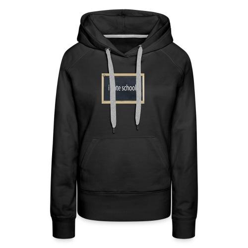 School - Women's Premium Hoodie