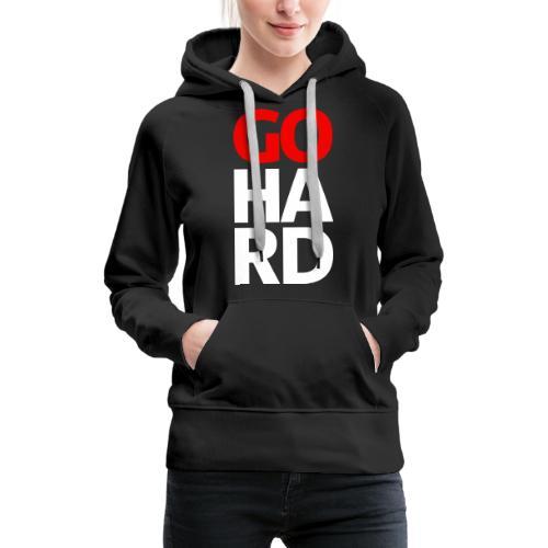 gohard - Women's Premium Hoodie