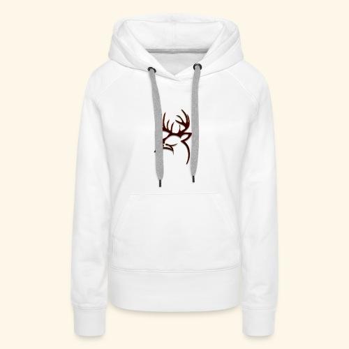 Buck Logo - Women's Premium Hoodie