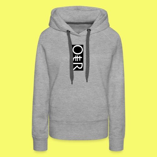 OntheReal coal - Women's Premium Hoodie
