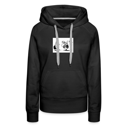 Give me a pass and I'll score - Women's Premium Hoodie