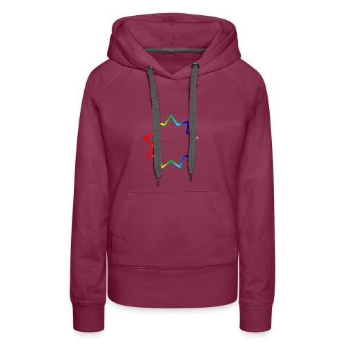 Baha´i rainbow - Women's Premium Hoodie