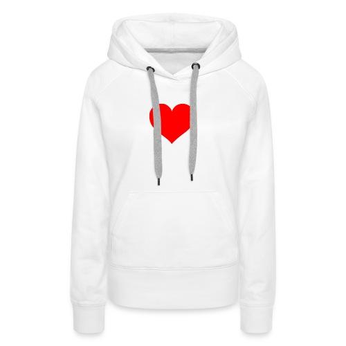 I bear my heart on my body - Women's Premium Hoodie