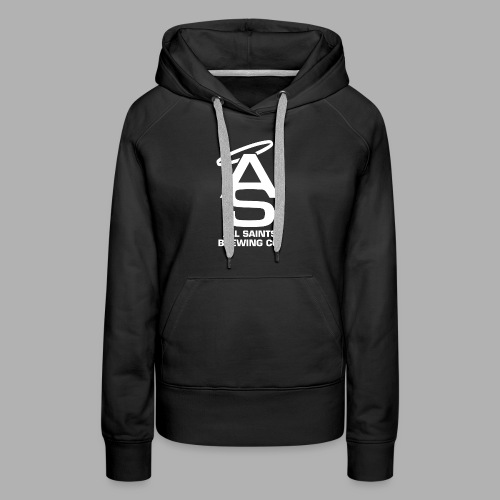 AS Logo white - Women's Premium Hoodie