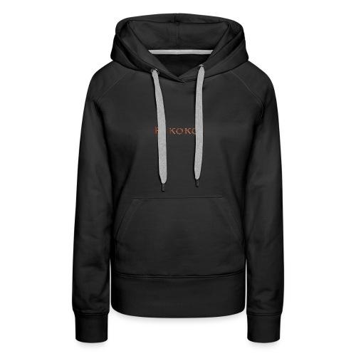 E KOKO - Women's Premium Hoodie