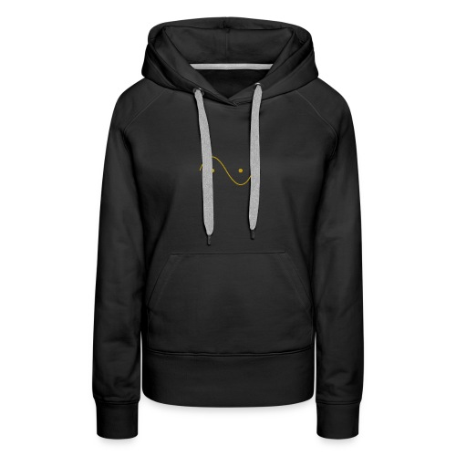 Quantum wave and particle - Women's Premium Hoodie