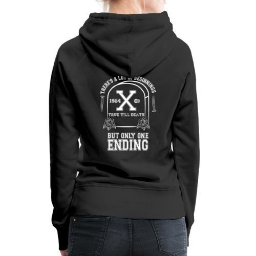 True Till Death Montreal SXE - Women's Premium Hoodie