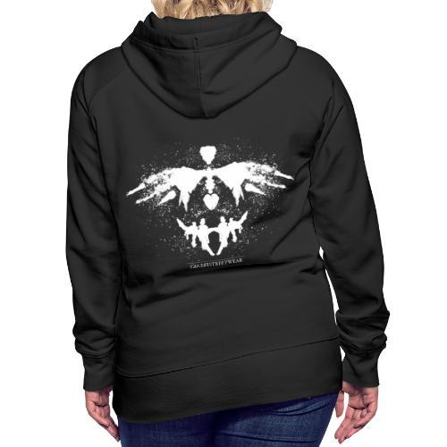 Rorschach_white - Women's Premium Hoodie
