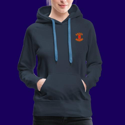 ChaosNConquer Minimalist Logo Print - Women's Premium Hoodie