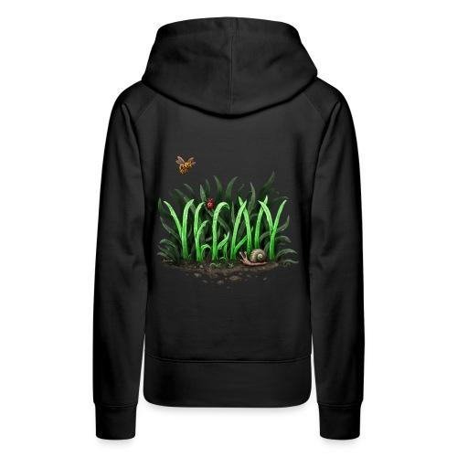 grow vegan - Women's Premium Hoodie