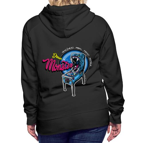 H2H Drain Monster Collection - Women's Premium Hoodie