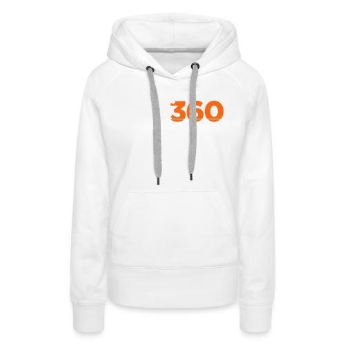 Move360 Logo LightGrey - Women's Premium Hoodie
