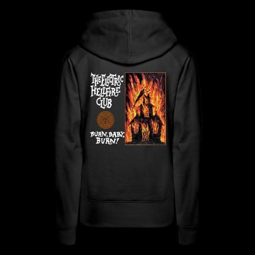 Electric Hellfire Club B - Women's Premium Hoodie