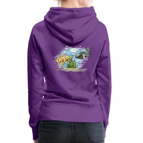 when clownfishes meet - Women's Premium Hoodie