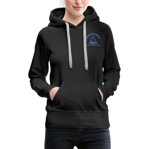 front and back logo - Women's Premium Hoodie