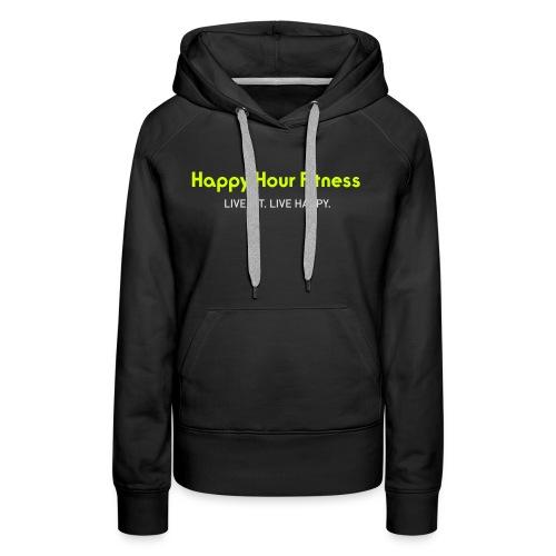 HHF_logotypeandtag - Women's Premium Hoodie