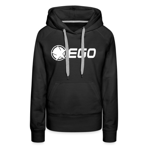 EGO Star With Text - Women's Premium Hoodie