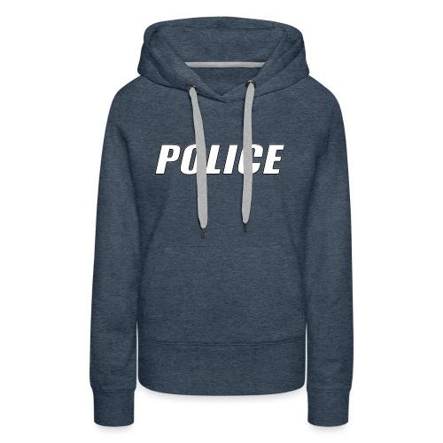 Police White - Women's Premium Hoodie