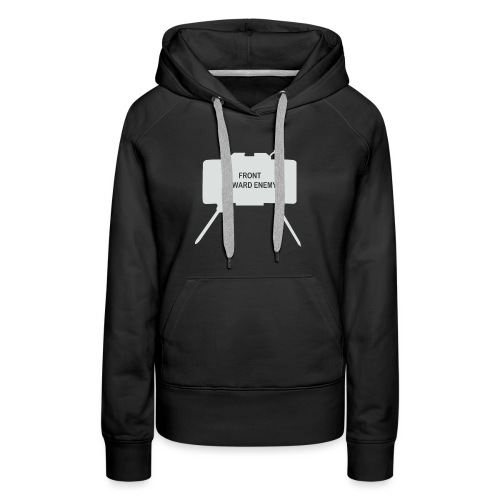 Claymore Mine (Minimalist/Light) - Women's Premium Hoodie