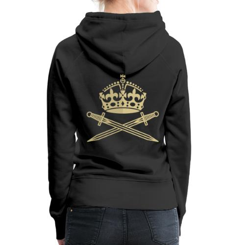 Crown Gold - Women's Premium Hoodie