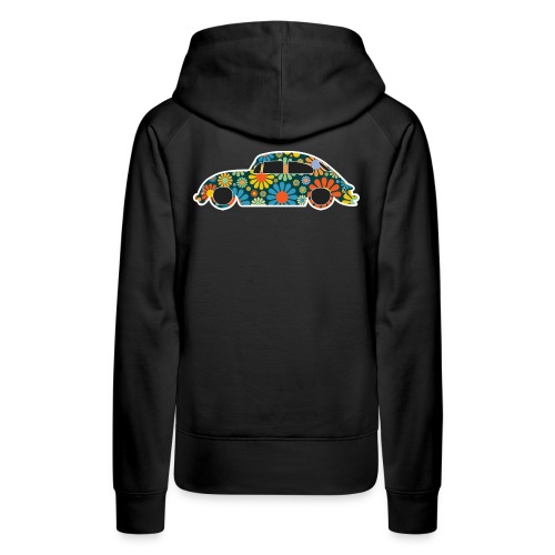 Beetle Car Flower Power - Women's Premium Hoodie