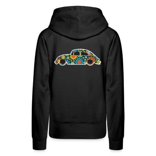 Beetle Car Flower Power - Women's Premium Hoodie