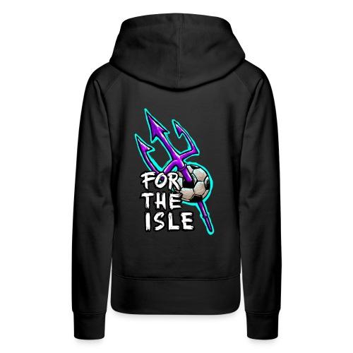 For The Isle Football - Women's Premium Hoodie