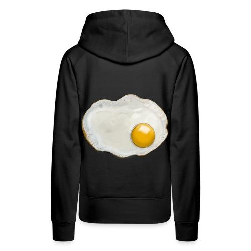 WHOISMNO - fried egg - Women's Premium Hoodie