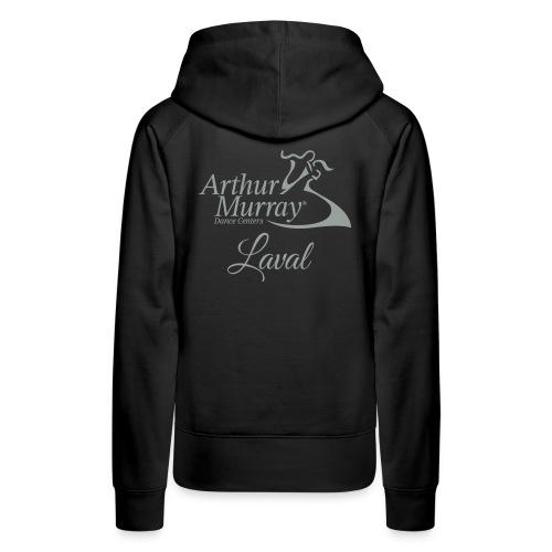 AML Logo2018 LightGrey - Women's Premium Hoodie