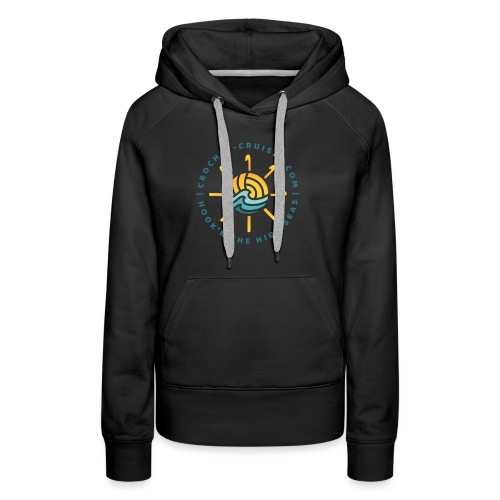 Front and Back Emblem - Womens - Women's Premium Hoodie