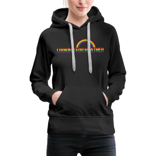 Looking For Heather Pride - Women's Premium Hoodie
