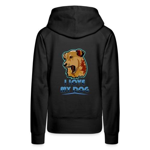 new T-shirt dog - Women's Premium Hoodie