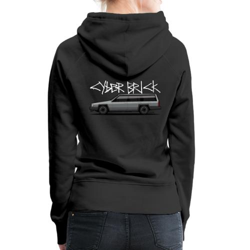 Cyberbrick Future Electric Wagon Graffiti - Women's Premium Hoodie