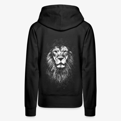 white lion - Women's Premium Hoodie