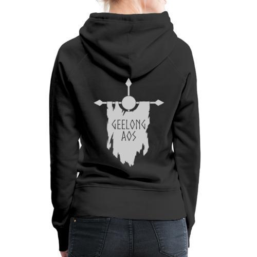 Geelong AOS - BLACK - Women's Premium Hoodie