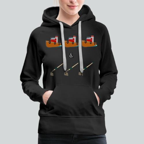 Boats and Hoes - Women's Premium Hoodie