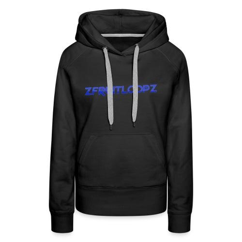 zFruitLoopz Orignal - Light Blue - Men - Women's Premium Hoodie