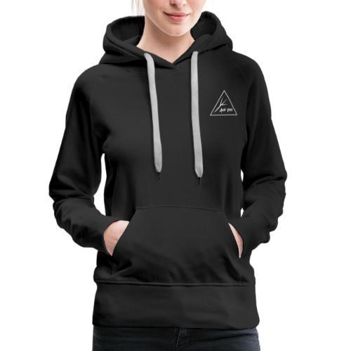 White Triangle - Women's Premium Hoodie