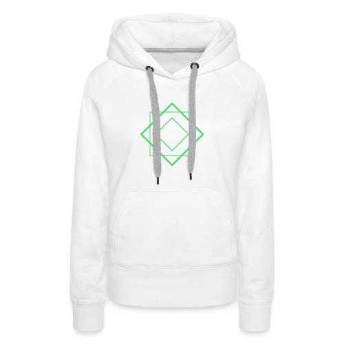 Terra Earth Element Alchemy Design - Women's Premium Hoodie