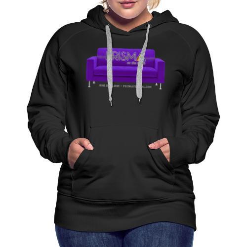 Purple Couch - Women's Premium Hoodie