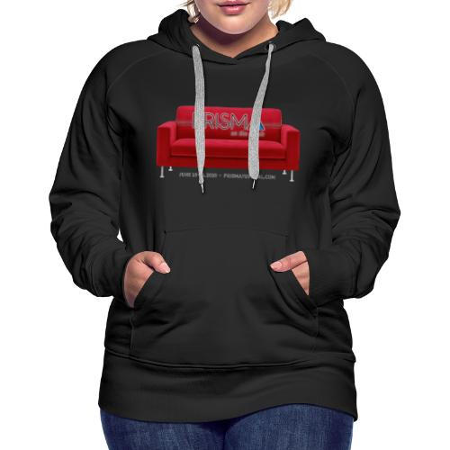 PRISMA on the Couch: Red - Women's Premium Hoodie