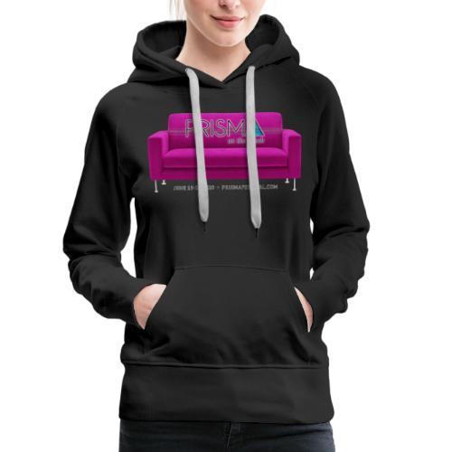 Pink Couch - Women's Premium Hoodie