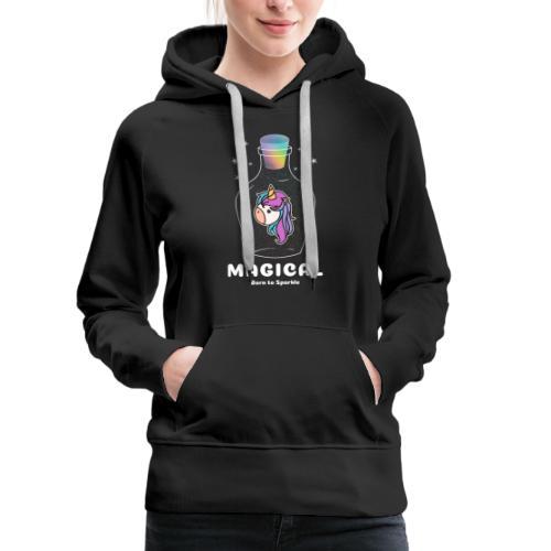 magical bottle design - Women's Premium Hoodie
