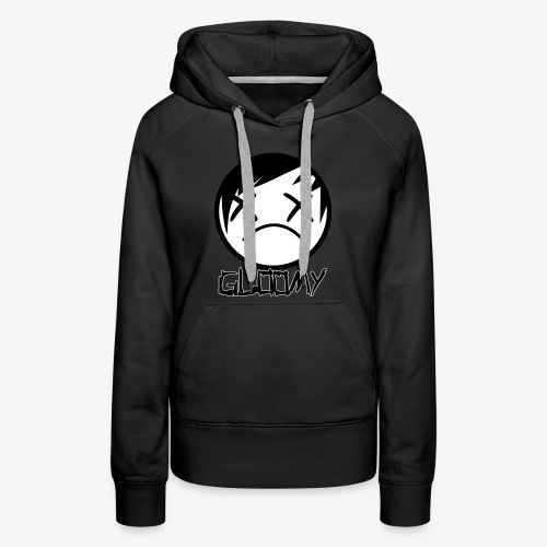 Gloomy Logo FINAL - Women's Premium Hoodie